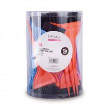 Bifull Professional Цветная кисточка для окрашивания волос Color Paletina Hardy Colors