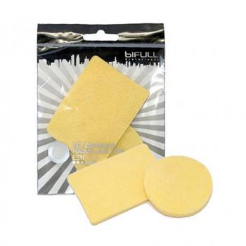 Bifull Professional Спонжи для макияжа круглый и прямоугольный Estetica Make Up Sponges Set