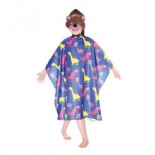 Bifull Professional Детский пеньюар для стрижки Textil Kids Cutting Cape Dino Blue
