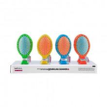 Bifull Professional Мини-гребень массажный для распутывания волос Cepillo Desenredante Sparkling Summer