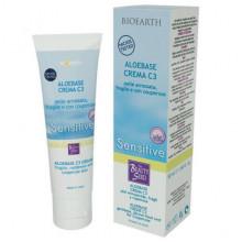 Bioearth Крем для чувствительной кожи с куперозом С3 Aloebase Sensitive