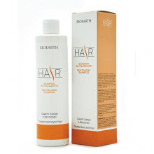 Bioearth Hair Восстанавливающий шампунь для поврежденных волос