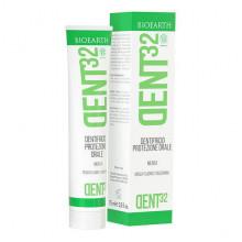 Bioearth Защитная зубная паста с ментолом Dent32