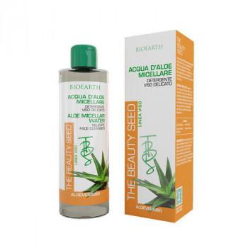 Bioearth Мицеллярная вода для деликатной кожи на основе алоэ The Beauty Seed