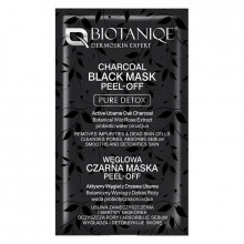 Biotaniqe Очищающая маска для лица с активированным углем Pure Detox (саше)