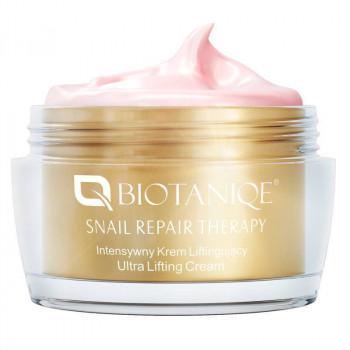 Biotaniqe Универсальный подтягивающий крем для лица со слизью улитки Snail Repair Therapy Ultra Liftihg 50+