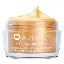 Biotaniqe Универсальный укрепляющий крем против морщин с витамином С 60+ Vitamin C Age Control