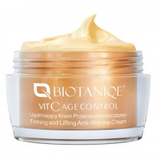 Biotaniqe Универсальный подтягивающий крем для лица против морщин с витамином С 50+ Vitamin C Age Control
