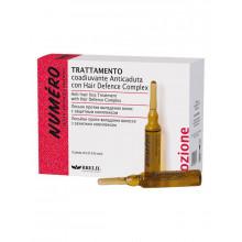 Brelil Лосьон против выпадения волос с защитным комплексом и экстрактом хмеля Numero (1 ампула*7 мл)