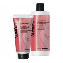 Brelil Numero Colour Шампунь для защиты цвета волос с экстрактом граната