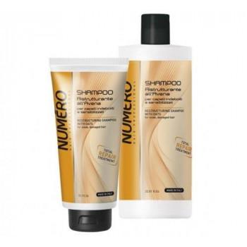 Brelil Numero Repair Шампунь для волос восстанавливающий с Экстрактом Овса - Уход за волосами (арт.20886)