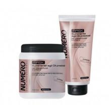 Brelil Numero Brilliance Маска для блеска волос с Ценными Маслами