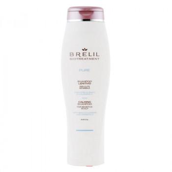 Brelil Деликатно восстанавливающий шампунь для чувствительной кожи головы Biotreatment Pure
