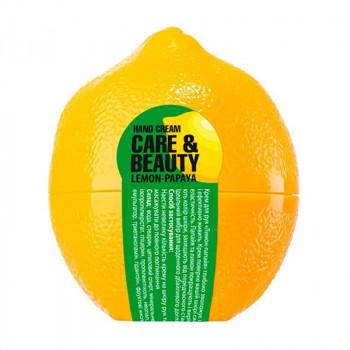 """Care&Beauty Крем для рук """"Лимон и папайя"""" Fruits Collection"""