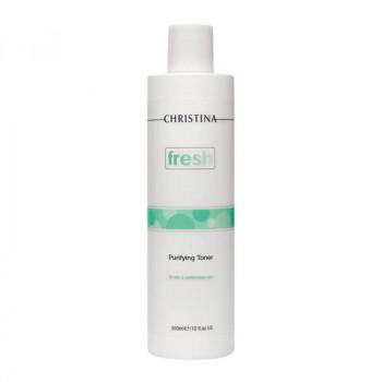 Christina Очищающий тоник для жирной кожи лица с лемонграссом Fresh