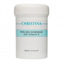 Christina Пилинг-гоммаж с витамином Е для всех типов кожи лица
