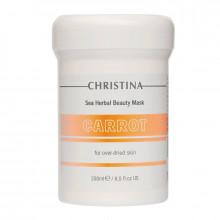 Christina Морковная маска для сухой, раздраженной, чувствительной кожи лица
