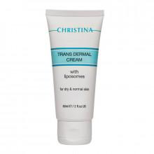Christina Трансдермальный крем с липосомами для нормальной и сухой кожи лица