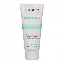 "Christina Увлажняющий крем для жирной кожи лица ""Эластин, коллаген, плацента"""