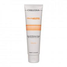 "Christina Увлажняющий крем для сухой кожи лица ""Эластин, коллаген, морковное масло"""