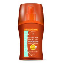 Clinians Защитное масло-спрей для загара и защиты волос SPF 10 Sun