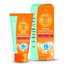 Clinians Защитный крем для загара лица, рук и зоны декольте SPF 15 Sun