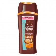 Clinians Жидкий крем для сухой кожи тела с аргановым маслом и медом Fluida Corpo Velvet Body