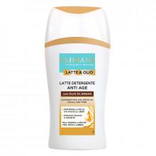 Clinians Очищающее антивозрастное молочко для лица с аргановым маслом для всех типов кожи Argan Latte & Olio