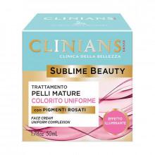 Clinians Подтягивающий крем для зрелой кожи, выравнивающий цвет лица Sublime Beauty