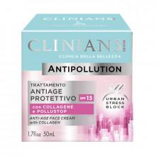 Clinians Антивозрастной защитный крем для лица Anti-Pollution