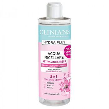 Clinians Мицеллярная вода 3в1 Hydra Plus Attiva Antistress