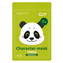 """Cliv Тканевая маска для сияния кожи лица """"Панда"""""""