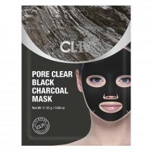 Cliv Маска для лица с черным углем для очищения пор от загрязнений