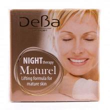 Подтягивающий ночной крем для зрелой кожи лица и шеи Maturel DeBa