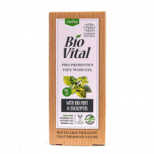 """Гель для умывания с мятой и эвкалиптом """"Pro-Prebiotics"""" Bio Vital DeBa"""