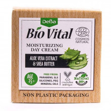 Увлажняющий дневной крем для лица с экстрактом алоэ вера и маслом Ши Bio Vatal DeBa