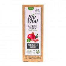 Сыворотка-лифтинг для лица и зоны декольте с экстрактом граната и аргановым маслом Bio Vital DeBa
