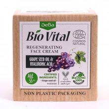 Регенерирующий крем для лица с маслом косточек винограда и гиалуроновой кислотой Bio Vital DeBa