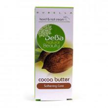 DeBa Смягчающий крем для рук и ногтей с маслом какао Natural Beauty
