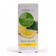 """Охлаждающий дезодорирующий бальзам для ног """"Лимон и мята"""" Natural Beauty DeBa"""