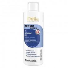 Delia Молочко для снятия макияжа с лица и глаз Dermo System Milk Make-up Remover