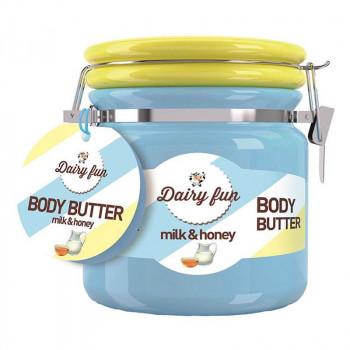"Delia Масло для тела ""Молоко и мёд"" Dairy Fun"