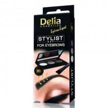 Delia Набор для стилизации бровей Stylist Eyebrow Expert
