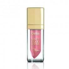 Delia Матовая жидкая губная помада Liquid Lipstick Matt & Long Lasting