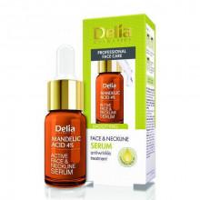 Delia Разглаживающая сыворотка для лица, шеи и декольте с миндальной кислотой Mandelic Acid