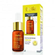 Delia Осветляющая сыворотка для лица, шеи и декольте с витамином C Liposomal Vitamin C