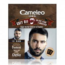 Delia Мужская краска для волос, бороды и усов Cameleo Men Grey Off