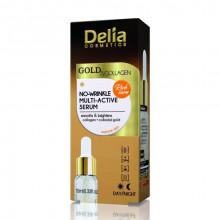 Delia Мультиактивная сыворотка против морщин Gold&Collagen