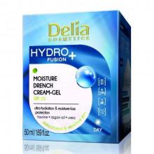 Delia Увлажняющий крем-гель с омолаживающим эффектом SPF 15 Hydro Fusion+