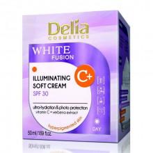 Delia Дневной крем-иллюминатор для лица против пигментации SPF 30 White Fusion+